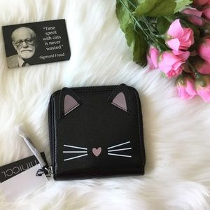 Cute MINICCI Cat Face Wallet - NWT